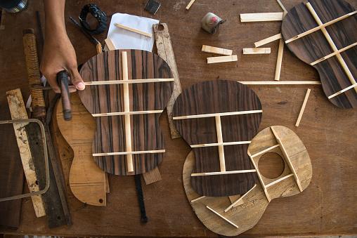 Ukelele「Tools for making handmade guitars」:スマホ壁紙(12)
