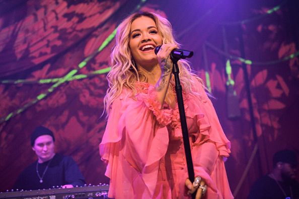 "Live Event「Rita Ora & Absolut Lime Kick-Off Grammy Awards Weekend With First Live Performance Of New Song, ""Proud"" At the Absolut Open Mic Project x Spotify Event In NYC」:写真・画像(5)[壁紙.com]"