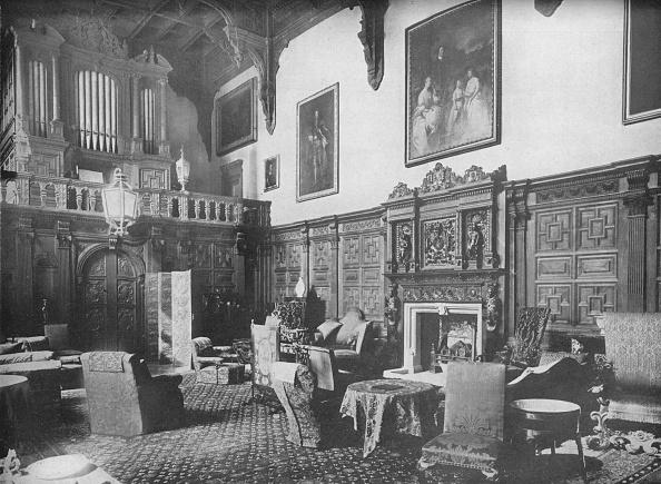 Castle「'Castle Ashby, Northamptonshire - The Marquis Of Northampton, K.G.', 1910」:写真・画像(13)[壁紙.com]