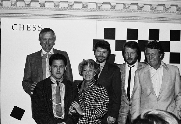Benny Andersson「Tim Rice and The Cast of Chess」:写真・画像(13)[壁紙.com]