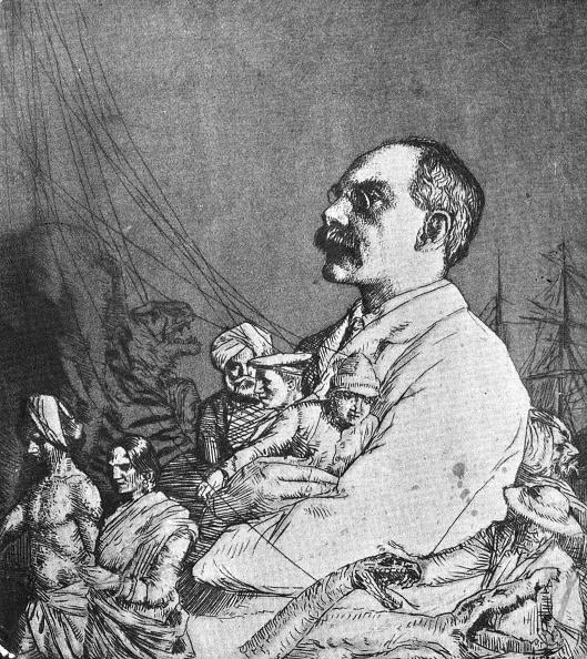 Cartoon「Rudyard Kipling」:写真・画像(6)[壁紙.com]
