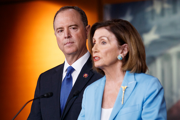Politician「Rep. Adam Schiff Joins Nancy Pelosi At Her Weekly News Conference On Capitol Hill」:写真・画像(4)[壁紙.com]