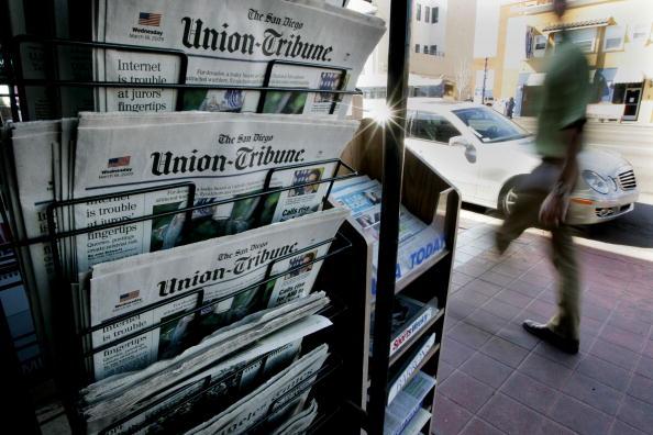 サンディエゴ「San Diego Union-Tribune Acquired By Private Equity Firm」:写真・画像(8)[壁紙.com]