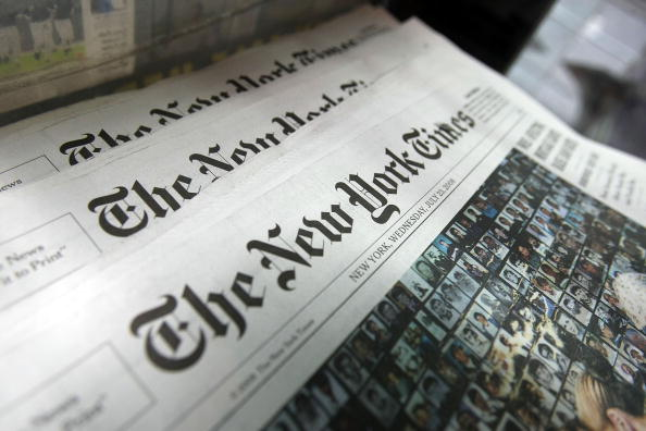 New York City「The New York Times Co. Post An 82 Percent Decline In 2nd Quarter Profi」:写真・画像(14)[壁紙.com]