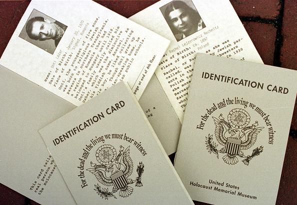 Identity「Copies of the Holocaust Memorial Museum identification cards」:写真・画像(15)[壁紙.com]