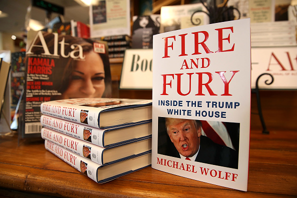 Justin Sullivan「Michael Wolff's Book On Trump Administration Released Early Due To Demand」:写真・画像(17)[壁紙.com]