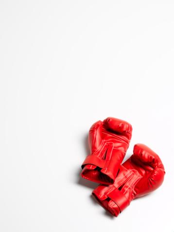 Boxing - Sport「Boxing gloves on white background」:スマホ壁紙(11)