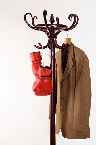 Furious「Boxing gloves and  jacket on a hanger」:スマホ壁紙(16)