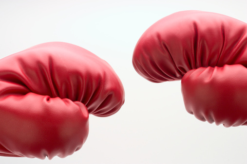 Boxing Glove「Boxing gloves, close-up (Digital Composite)」:スマホ壁紙(17)