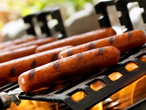 Portability「Hotdogs on an Outdoor Grill」:スマホ壁紙(8)