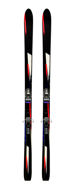 Skiing「Alpine Skis Vertical」:スマホ壁紙(12)