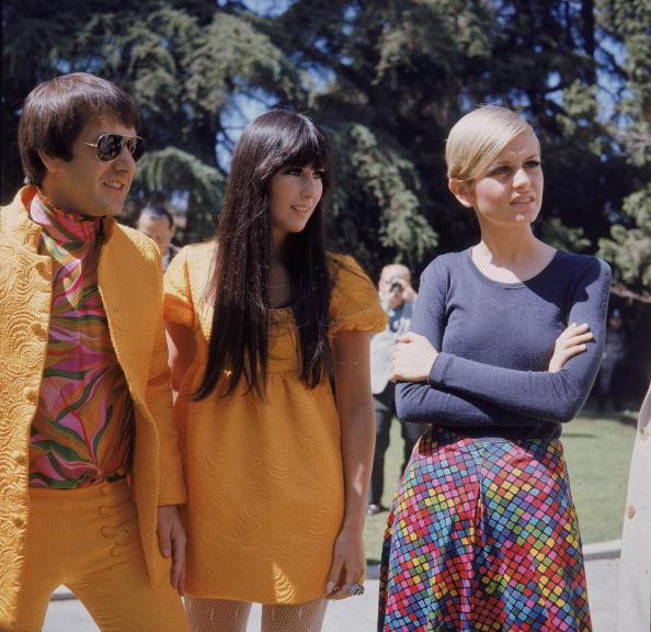 1960-1969「Sonny & Cher & Twiggy」:写真・画像(8)[壁紙.com]