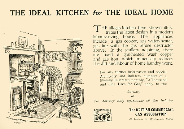 Only Young Women「The Ideal Kitchen For The Ideal Home - The British Commercial Gas Association」:写真・画像(18)[壁紙.com]