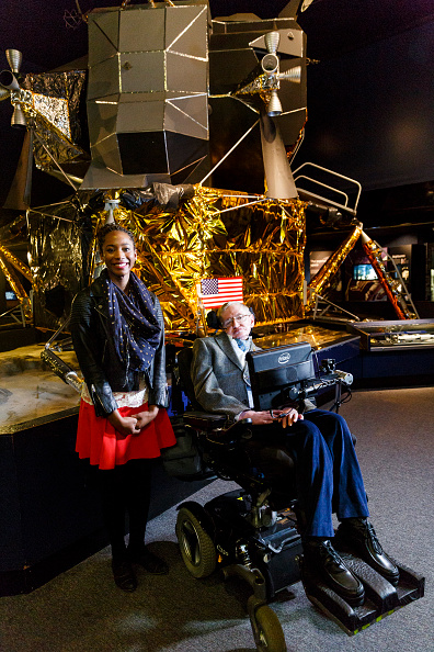 Tristan Fewings「London's Official Guest of Honour Tours The Science Museum With The World's Most Famous Physicist Stephen Hawking」:写真・画像(10)[壁紙.com]