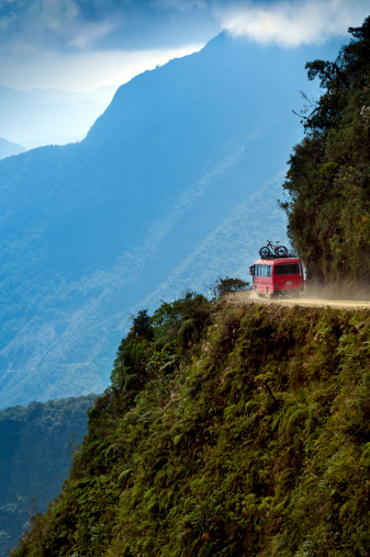 Hairpin Curve「The World's Most Dangerous Road, Bolivia」:スマホ壁紙(5)
