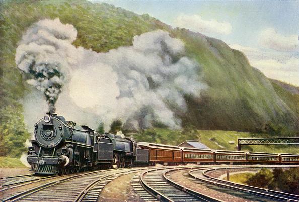 Steam Train「New York to Chicago Express」:写真・画像(9)[壁紙.com]