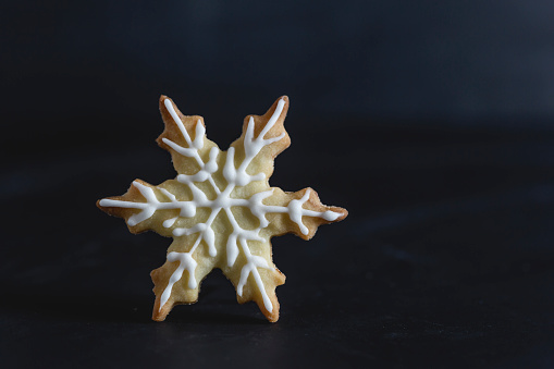 Biscuit「Pastry with sugar icing, snowflake」:スマホ壁紙(11)