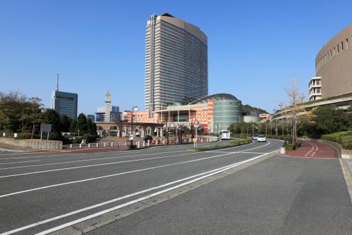 Japan「Jigyo Central Park and Hilton Fukuoka Seahawk, Fukuoka, Fukuoka, Japan」:スマホ壁紙(7)