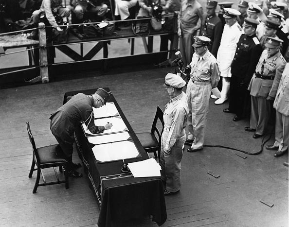 Japanese Surrender「Douglas MacArthur」:写真・画像(7)[壁紙.com]