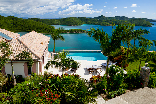 Foldable「luxury Caribbean villa in the Virgin Islands - tropical vacation」:スマホ壁紙(18)