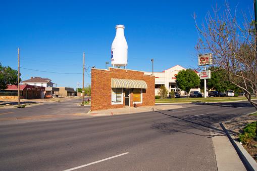 Milk Bottle「Route 66 grocery store.」:スマホ壁紙(2)