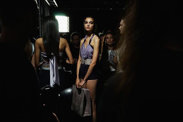 ファッション「Salvatore Ferragamo - Backstage - Milan Fashion Week Spring/Summer 2018」:写真・画像(12)[壁紙.com]