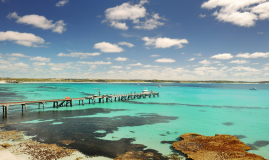 South Australia「Old Jetty, Kangaroo Island, Australia (XXXL)」:スマホ壁紙(7)