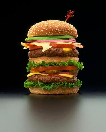 Bun - Bread「Hamburger」:スマホ壁紙(9)