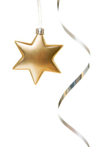 銀「クリスマスの星」:スマホ壁紙(19)
