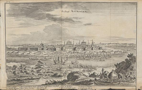 Russian Military「Astrakhan (From: Drie aanmerkelyke reizen), 1675」:写真・画像(14)[壁紙.com]