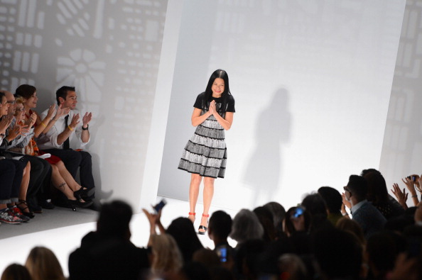 Stephen Lovekin「Vivienne Tam - Front Row - Mercedes-Benz Fashion Week Spring 2014」:写真・画像(5)[壁紙.com]