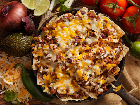 Sour Cream「Chilli Cheese Skillet Nachos」:スマホ壁紙(18)