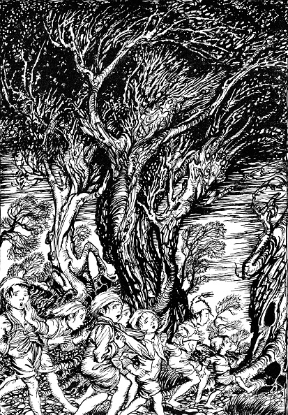 Fairy Tale「'The Arthur Rackham Fairy Book'」:写真・画像(6)[壁紙.com]