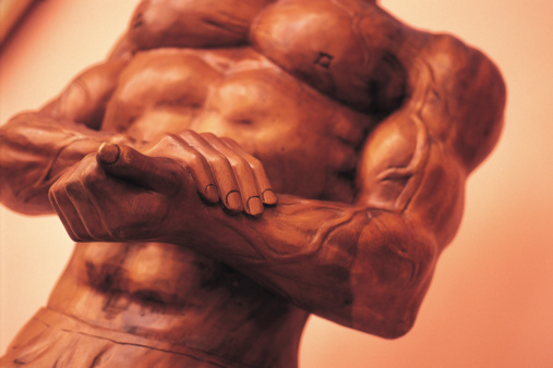 Bicep「wooden muscle man」:スマホ壁紙(6)