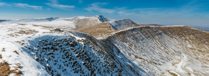 High Country「Brecon Beacons National Park Pen y Fan mountain panorama Wales」:スマホ壁紙(13)