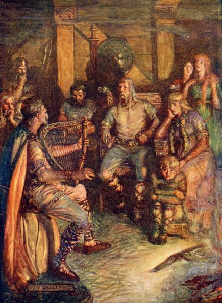 楽器「Celtic minstrels singing」:写真・画像(16)[壁紙.com]