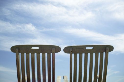 Outdoor Chair「Vacant lounge chairs」:スマホ壁紙(6)