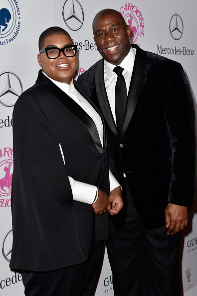 Magic Johnson「2014 Carousel of Hope Ball Presented by Mercedes-Benz - Arrivals」:写真・画像(11)[壁紙.com]