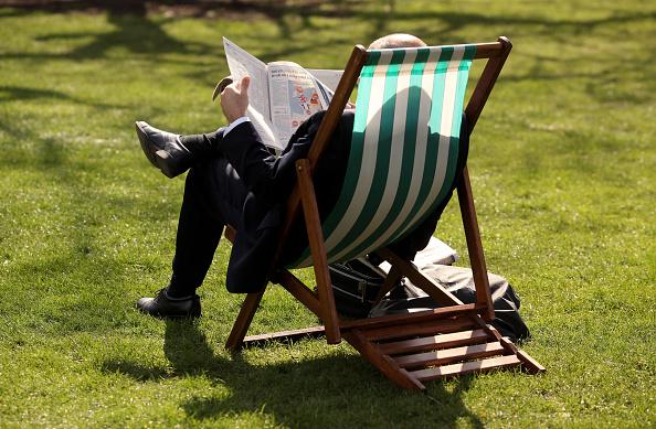 Deck Chair「Londoners Revel In Spring Sunshine」:写真・画像(17)[壁紙.com]