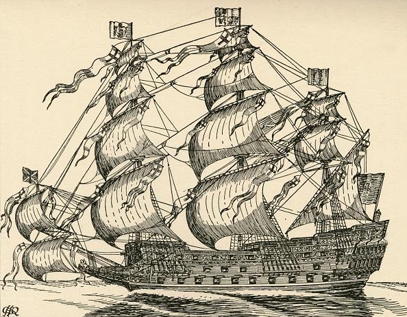 17th Century「The Sovereign Of The Seas」:写真・画像(9)[壁紙.com]