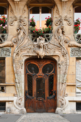 Art Nouveau「Paris Architecture」:スマホ壁紙(2)