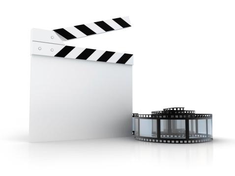 Video Still「Director slate with spiral Film」:スマホ壁紙(19)