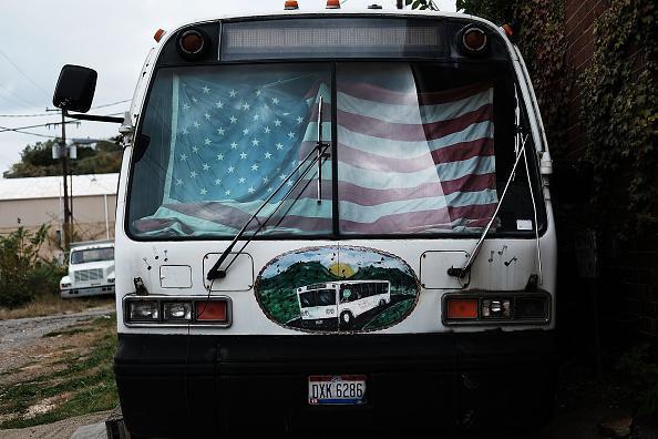 Bus「Battleground State Of Ohio Key To Winning Presidency For Candidates」:写真・画像(14)[壁紙.com]