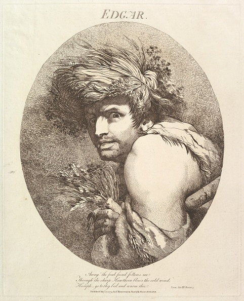 Etching「Edgar (Twelve Characters From Shakespeare)」:写真・画像(7)[壁紙.com]