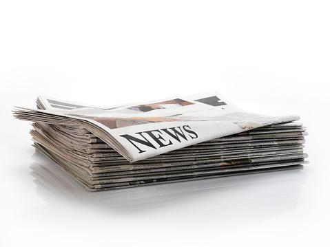 Single Word「newspaper」:スマホ壁紙(3)