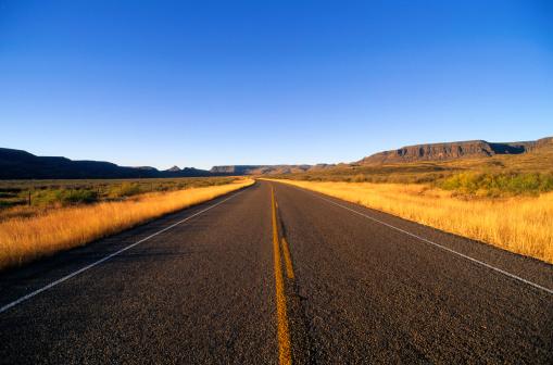 Dividing Line - Road Marking「Texas Highway」:スマホ壁紙(12)