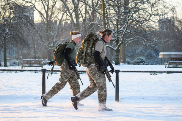 Britain Freezes As Siberian Weather Sweeps Across The Country:ニュース(壁紙.com)