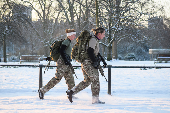 Snow「Britain Freezes As Siberian Weather Sweeps Across The Country」:写真・画像(5)[壁紙.com]