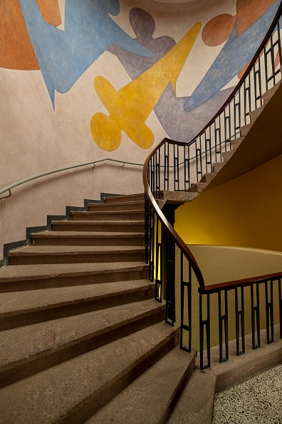 Construction Industry「Murals By Oskar Schlemmer In Main Building」:写真・画像(0)[壁紙.com]