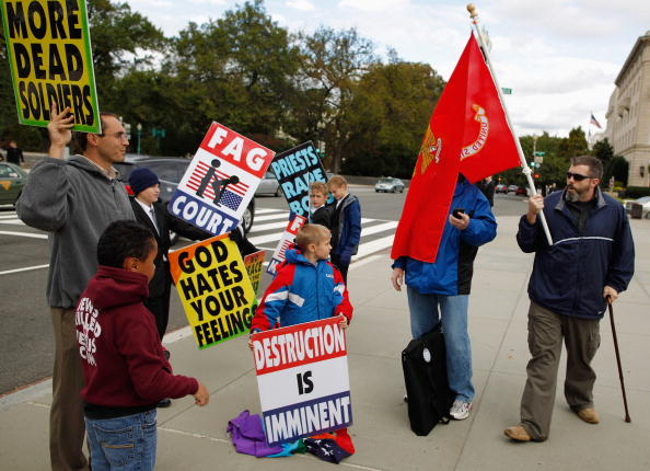 WBC「Supreme Court Hears First Amendment Case On Protests At Military Funerals」:写真・画像(5)[壁紙.com]